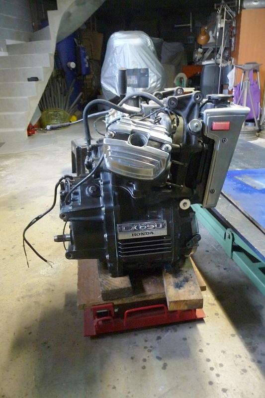 Démarreur carbone Honda CX 650 E rc12 NOUVEAU *